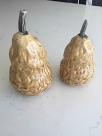 Ceramic Pears (home decor)