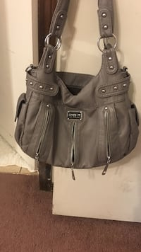 gray leather hobo bag Oklahoma City, 73139