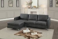 New Dark gray sofa chaise tax included free delivery  Hayward
