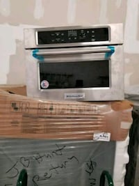 New kitchen aid 24' stainless steel built in micro North Miami Beach, 33162