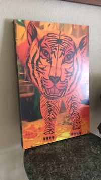 tiger artwork Visalia, 93291