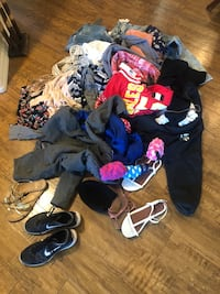 WARDROBE of teen clothes plus accessories, coat, purse, shoes, socks Tempe, 85284