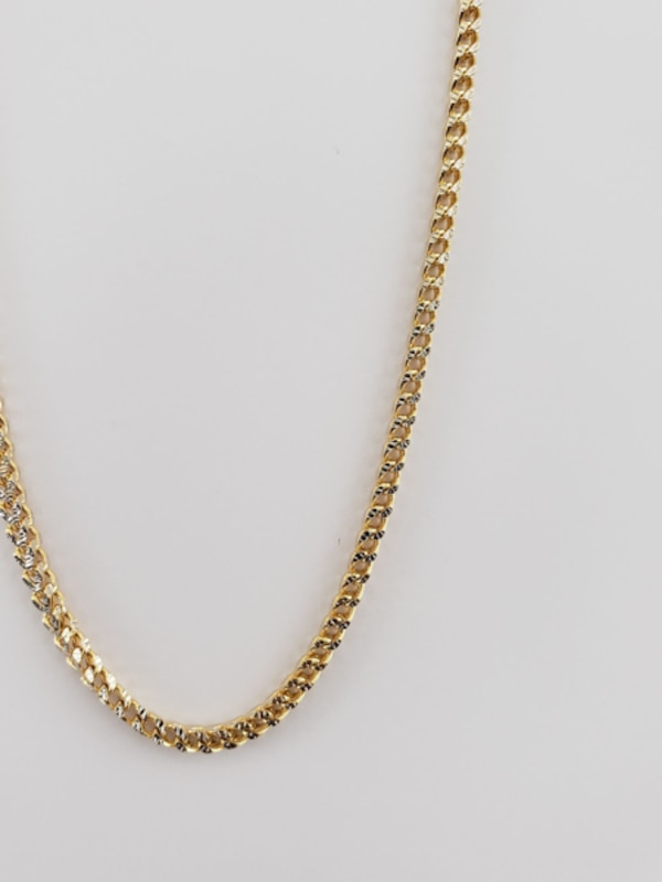 10k Yellow Gold Two-Toned Franco Chain ddacc96d-0955-4216-8ae0-dd5654c1969a