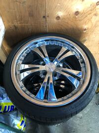 215 40 18 rims and tires