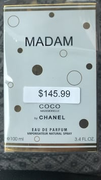 Coco Chanel Parfume Mississauga, L4T 1T9