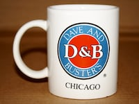 "Dave and Busters Chicago 3.75"" Coffee Mug Chicago"
