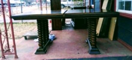 Large family dining room table