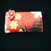 red, white, and yellow floral leather billfold wal Jeemangalam, 635103