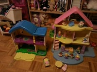 Doll houses with lots of accessories Toronto, M1M