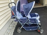 baby's purple and black stroller Ashburn, 20148