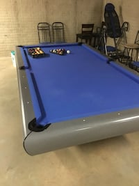 blue and black pool table Springfield, 22150