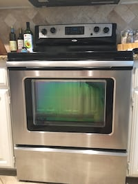 Whirlpool Stainless steel electric range and stove. Works great wife wanted a gas range.  Richardson, 75081