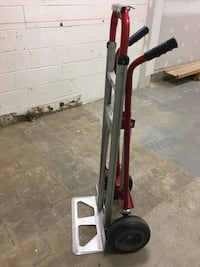 Uline 3-in-1 hand truck with solid wheels. Cash Only Vienna, 22031