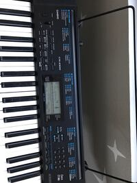 Casio CTK 2300 keyboard, stand, bench and headphones