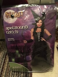Spellbound Witch woman's costume-NEW St Thomas, N5P 3M7