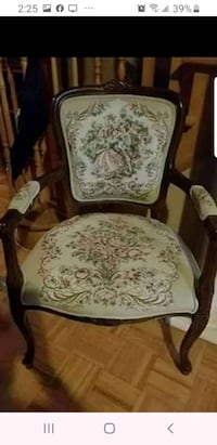 Beautiful French provincial tapestry chair Vaughan, L4H 2H2