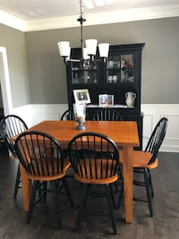 Bar Height Kitchen Table, Chairs, Buffet/Hutch Hendersonville, 37075