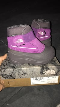 Brand new in box never worn. Size 7toddler. Northface. Paid 49.99 Racine, 53406