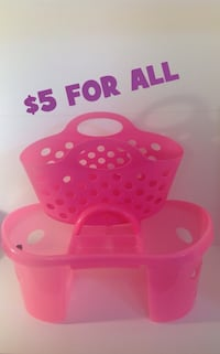 Pink Plastic Shower Caddy Brampton, L7A