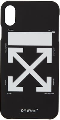 Off-White Phone Case (iPhone X/XS) Maple Ridge