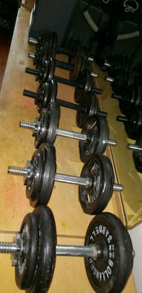Workout dumbbell weights Bronx, 10452