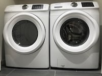 white front-load washer and dryer set Alameda, 94502