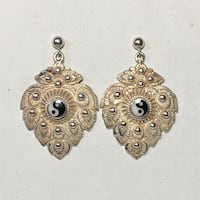Antique Sterling Silver Yin Yang Earrings Ashburn, 20147