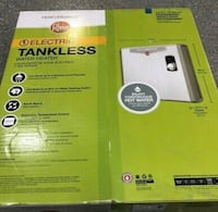 Rheem electric/tankless water heater(brand new)