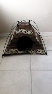 Small dog house...