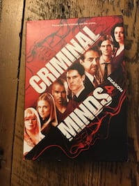 criminal minds 4 season dvd Almont, 48003