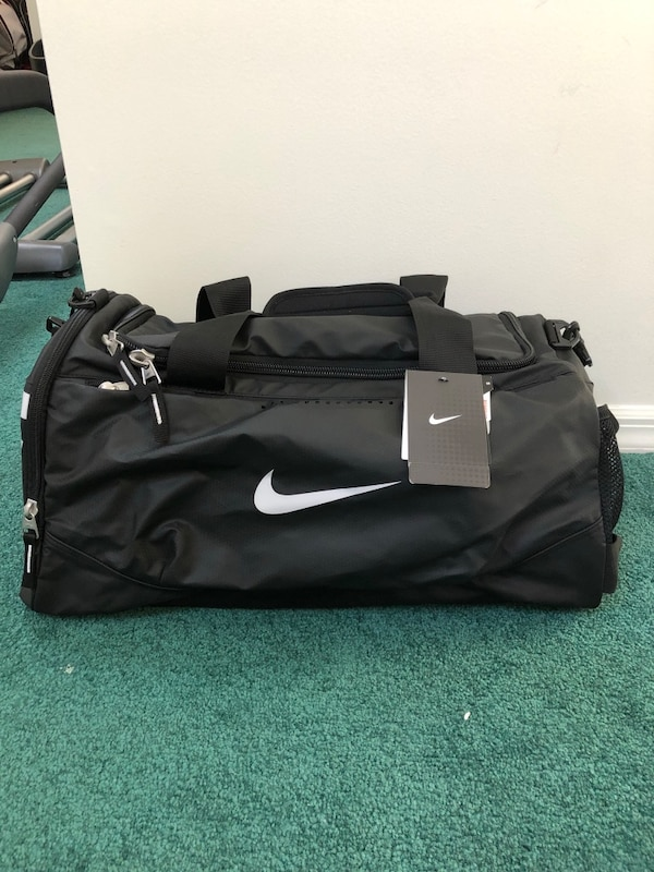 new style 7fc5d a0317 Used Brand new with tags black nike duffle   gym bag for sale in Rutherford