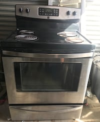 gray and black induction range oven Dallas, 75243