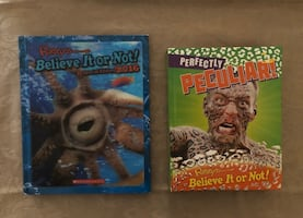 Ripley's Hardcover Books (2'in total)