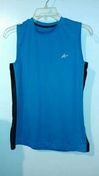 blue and black Adidas tank top Rockville, 20850