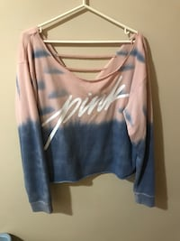 PINK medium sweater with string detail  Toronto, M4A 1C4