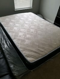 Full mattress with boxspring