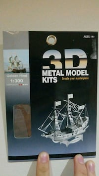 3D METAL MODEL KIT 20 km