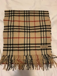 Authentic Burberry Scarf-Cashmere New York, 10314