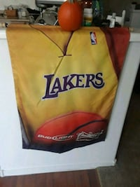 Lakers NBA Budweiser Bud Light Banner