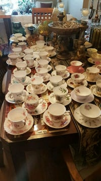 Vintage cups and saucers Barrie, L4N 6C3