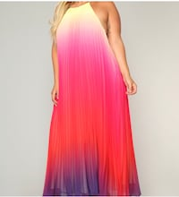 XL summer backless long dress brand new Toronto, M2N 1X2