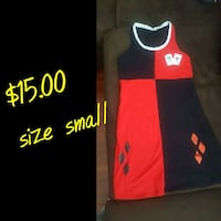black and red Adidas jersey shirt 2219 mi