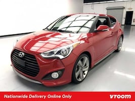 2014 Hyundai Veloster Boston Red Metallic coupe
