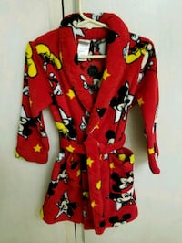 Mickey Mouse Disney robe size 4t Colton, 92324