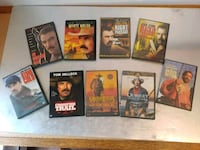 assorted movie DVD case lot Vancouver, V6G 1W9