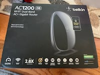 Belkin AC 1200 DB Wi-Fi Dual-Band router 紐華克, 19711