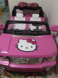 Pink and black hello kitty plastic toy Montgomery Village, 20886