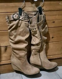 Suede boots 3153 km