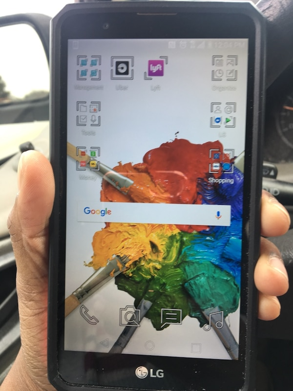 Metro pcs Lg Stylo 2 plus with Stylus and case