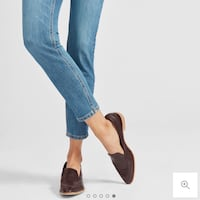 Everlane Modern Loafer in Burgundy (W)